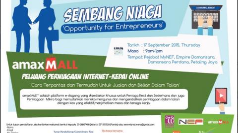 Sembang Niaga 'Opportunity for Entrepreneurs
