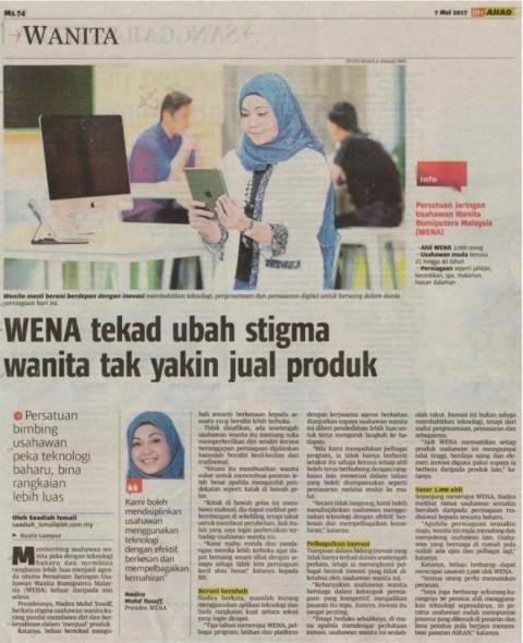 WENA tekad ubah stigma wanita tak yakin jual produk